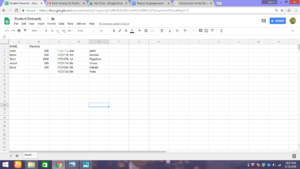 Import data from one spreadsheet to another spreadsheet in google